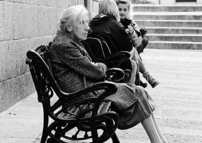 Dos edades. Segovia