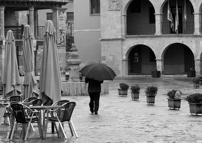 Llueve en Ayllón