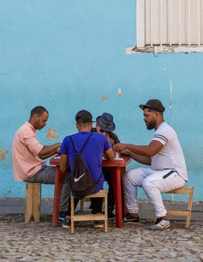 El dominó. Cuba